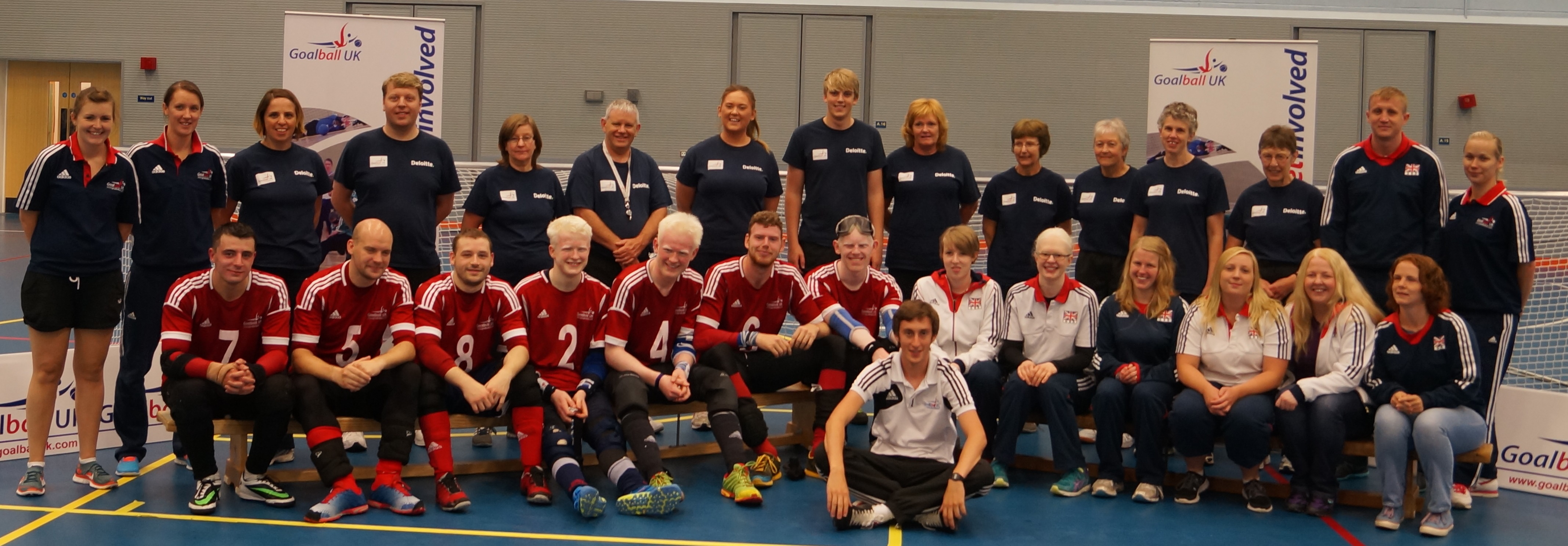 Goalball UK International Tournament 2014