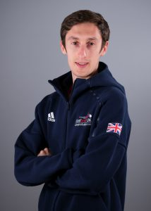 Side profile of assistant GB Men's coach Alex Bunney