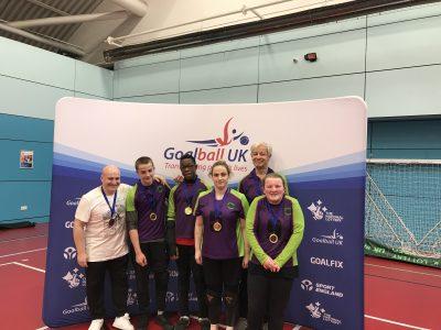 Croysutt Warriors with their medals after a tournament