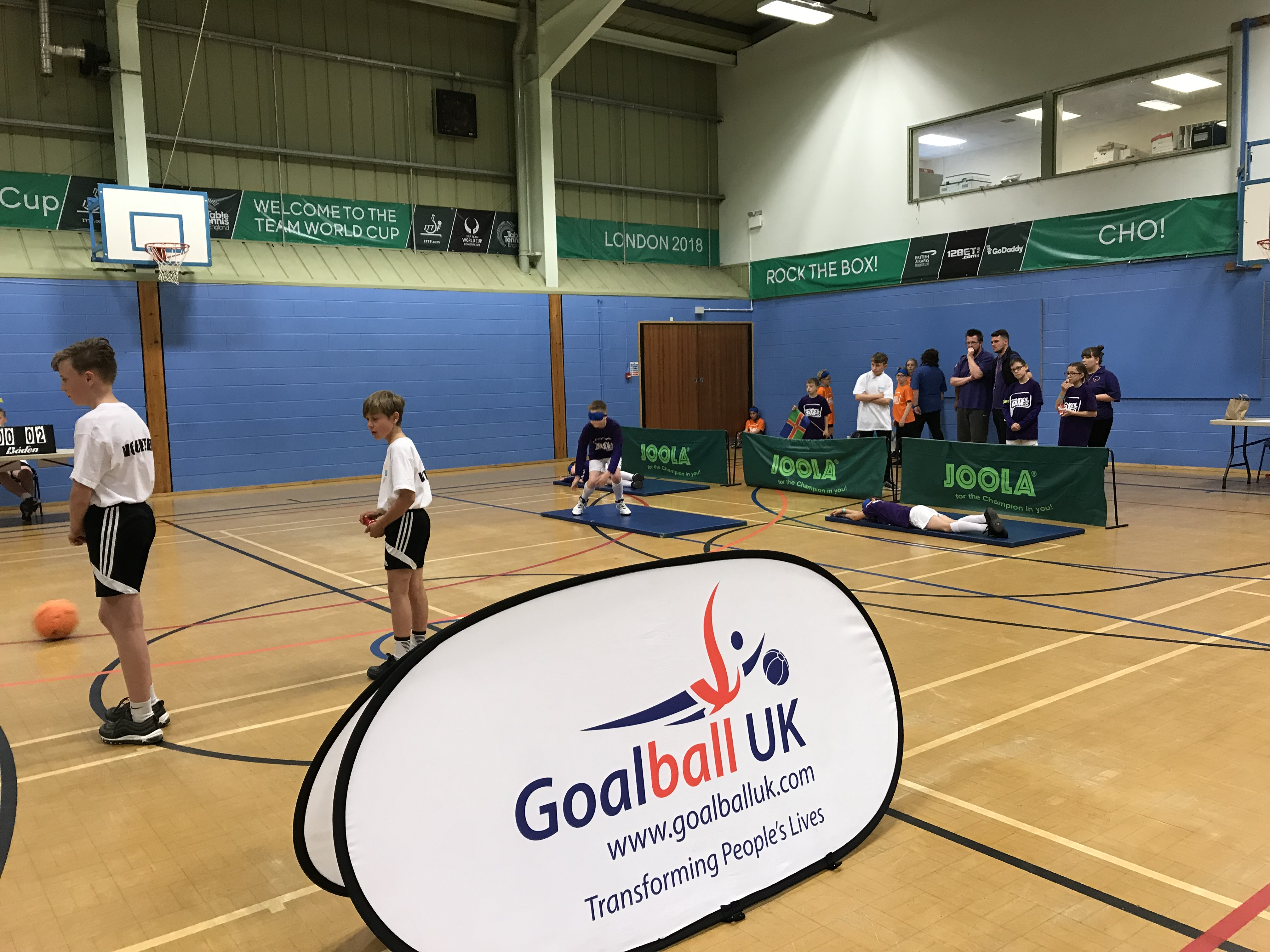 Action shot taken at Lincolnshire School Games