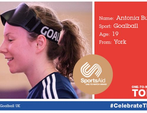 Antonia Bunyan shortlisted for SportsAid's prestigious One-to-Watch Award