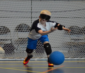 Junior Player throwing ball