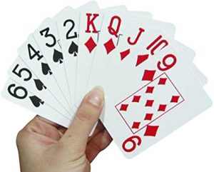 Picture of playing cards