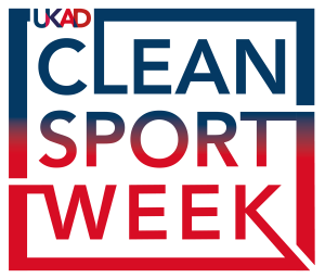 UKAD Clean Sport Week logo