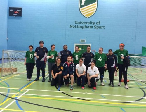 Digging through the Goalball UK archives – a look back at the 2015 Nottingham Varsity match