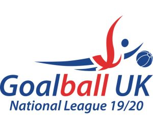 Goalball UK National League logo 2019/20