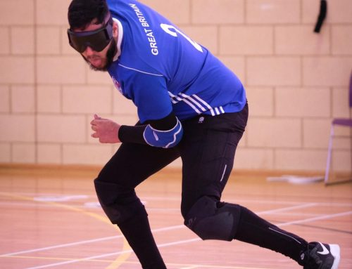 Goalball UK celebrates 10 years with 10 stories – Naqib Ahmed