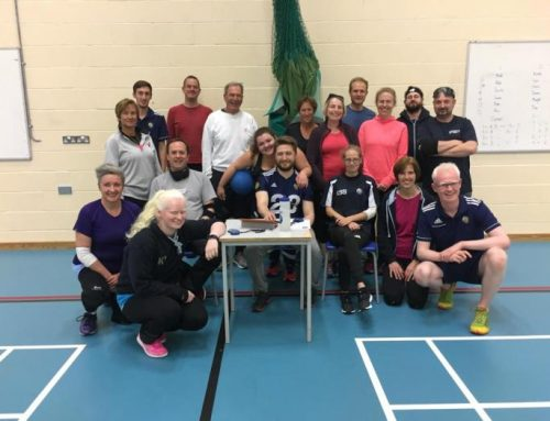Digging through the Goalball UK archives – Winchester Friends & Family Experience Day