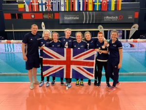 GB Women's squad photo, including Kali.
