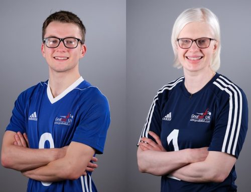 Take a Break in November with Goalball UK 'Time Outs