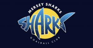 Mersey Sharks Goalball Club Logo