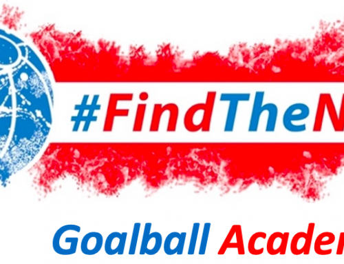 The #FindTheNext Goalball Academy is here!