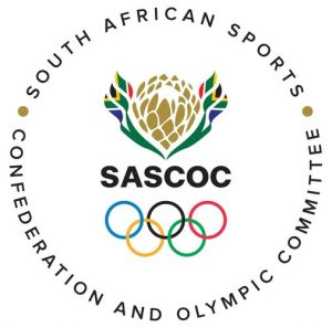 South African Sports Confederation and Olympic Committee logo.