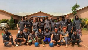 Ghana volunteers group photo!