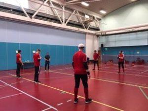 Great Britain men's squad returning to training.