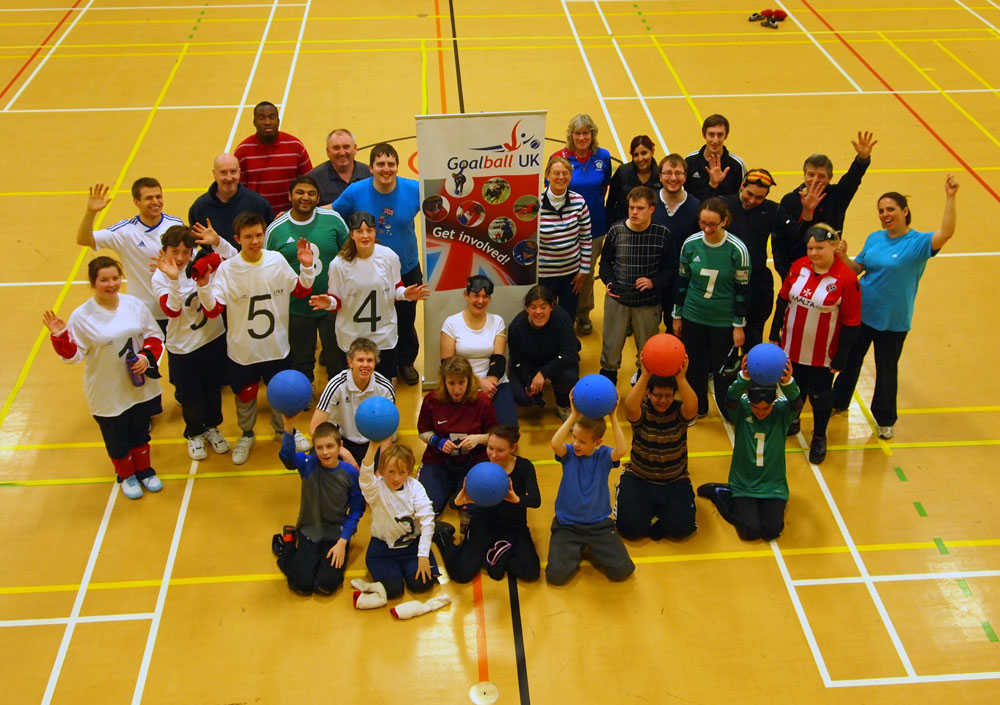 image of a goalball development day