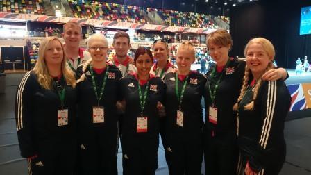 GB Women's team in Copper Box