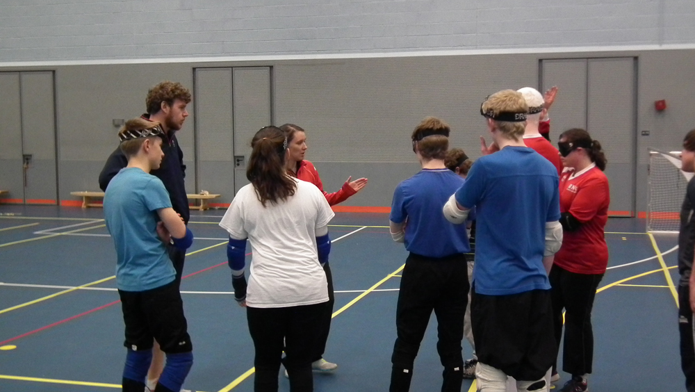 Learning to play Goalball