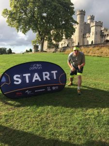 Michael Payne at Bodelwyddan Castle parkrun
