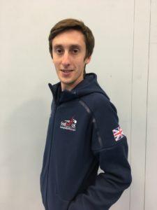Side profile of Alex Bunney