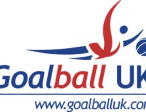 Goalball UK logo with web address