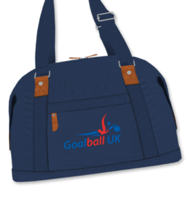 Shop photo of Goalball UK bag in blue