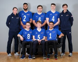 Group photo of GB under 23s and coaches