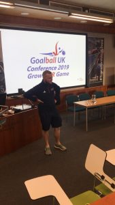 Tom delivering his Club development session