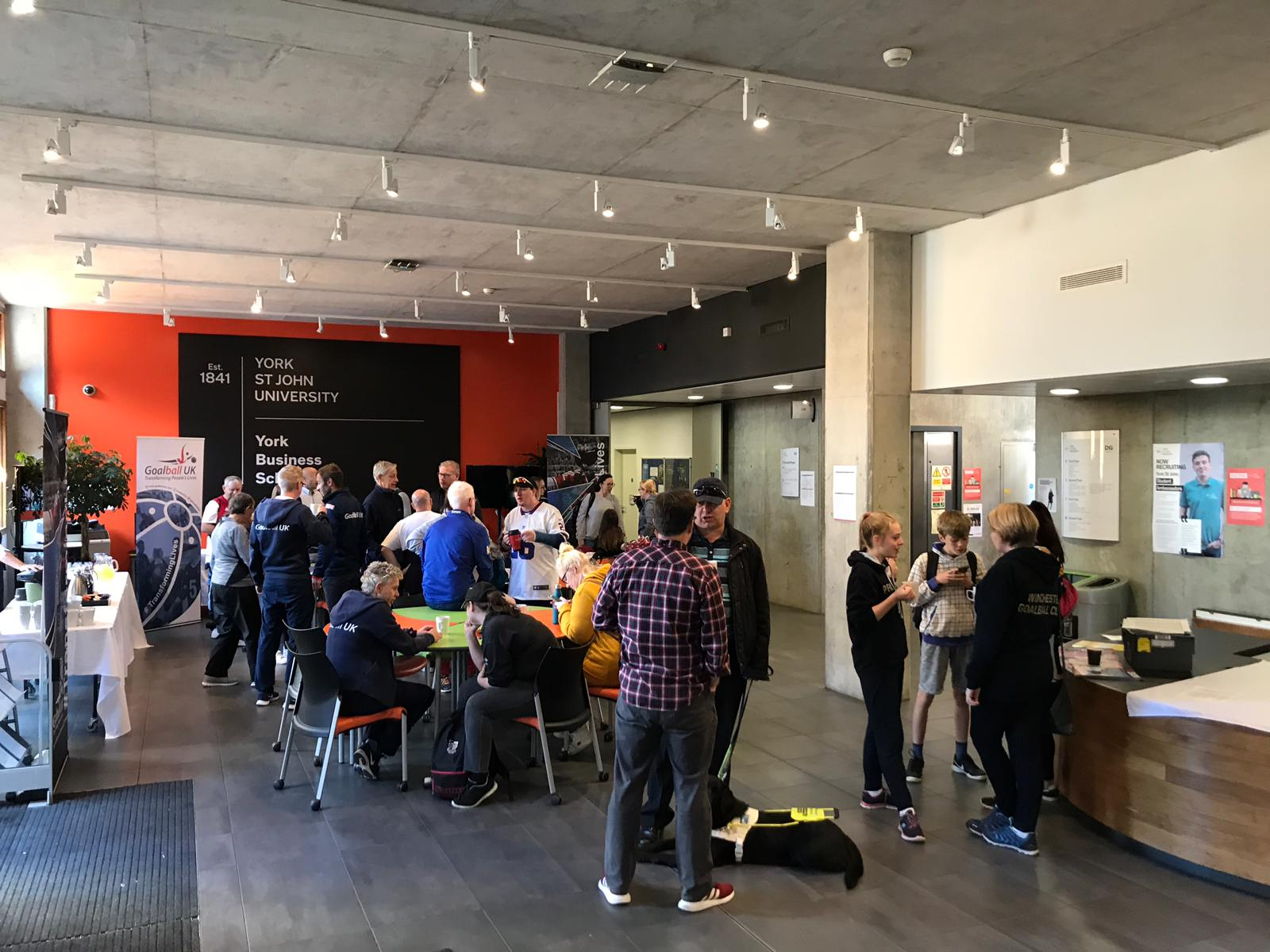 Registraion and refreshments in the foyer at the start of day 1