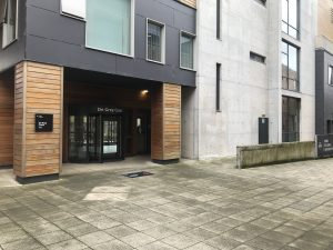 De Grey Building entrance -York St John