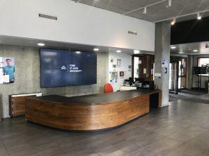 Foyer in the De Grey Building
