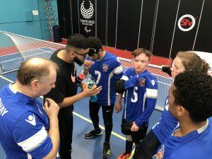 Birmingham Barbarians time out team talk