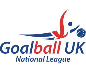 Goalball UK National League logo.