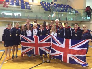 Men and Women GB Squads at the 2016 European B Championships.