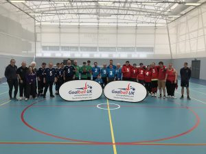 Group photo from the 2018 Home Nations Tournament