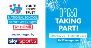 Youth Sport Trust National School Sport Week promotional image