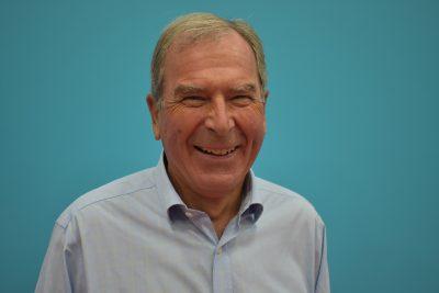 Chair of Goalball UK, John Grosvenor