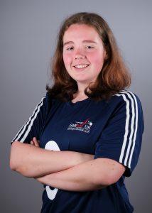 Image is the Team GB portrait of Lois Turner