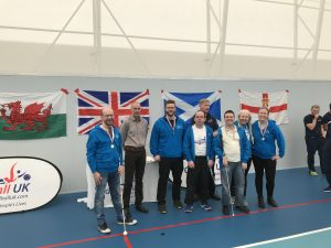 Photo of the Scotland squad, including Graeme, at the Home Nations tournament