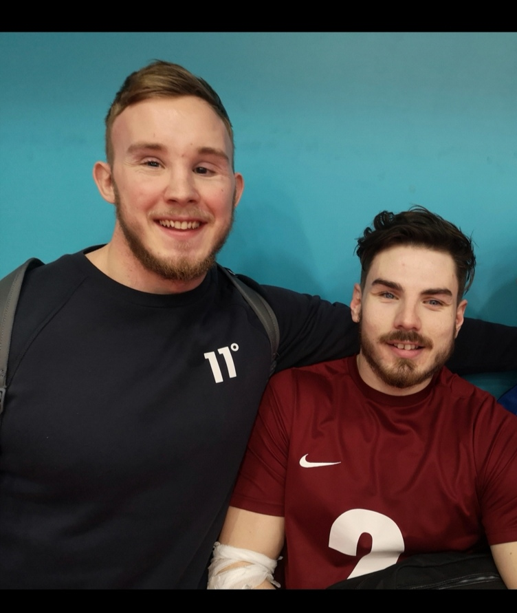 Goalball UK celebrates 10 years with 10 stories – Josh McEntee & Josh Windle
