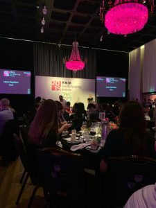 Image shows the 2019 RNIB See Differently Awards in person, image taken by Tom Dobson.