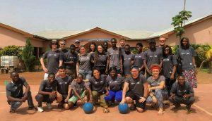 Ghana volunteers group photo!