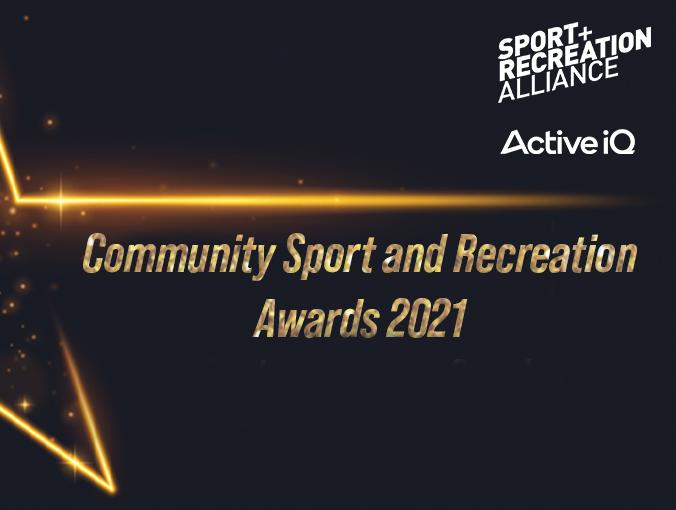 Community Sport & Recreation Awards 2021 logo.