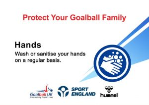Hands promotional image with the message to wash and sanitise hands regularly.