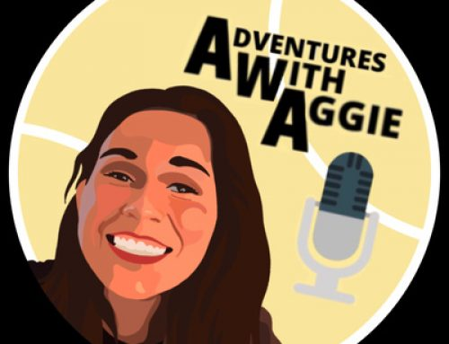 Adventures with Aggie podcast in partnership with Goalball UK!