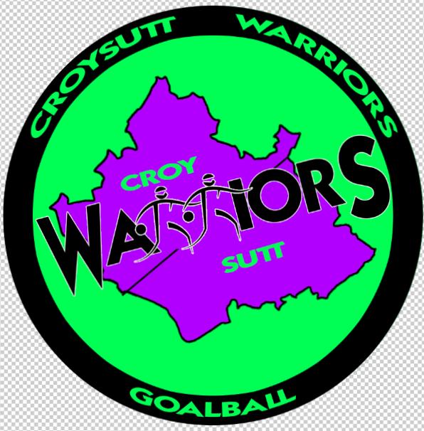 Croysutt Warrior Goalball Club logo.