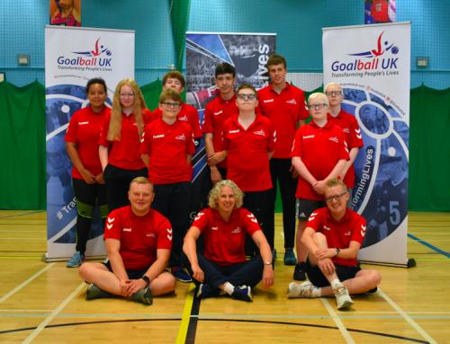 Goalball Junior Days – give goalball a go in October!