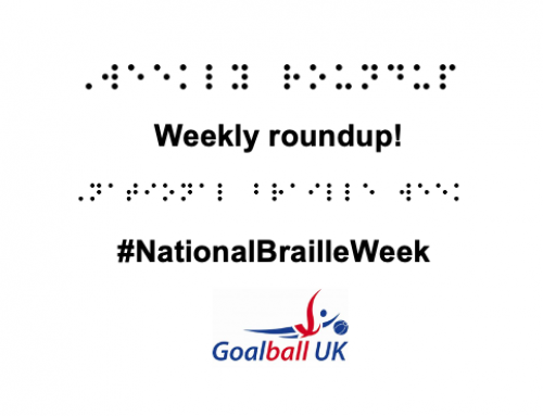 Weekly round-up: #GoalballFamily on social media